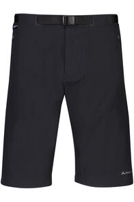 Macpac Trekker Pertex® Equilibrium Softshell Shorts - Men's, Black, hi-res