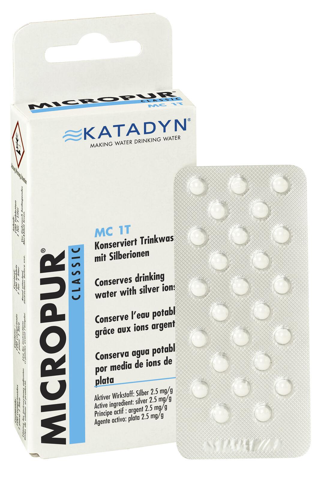 Katadyn Micro Tablets, None, hi-res