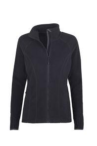 Macpac Kea Polartec® Micro Fleece® Jacket - Women's, Black, hi-res