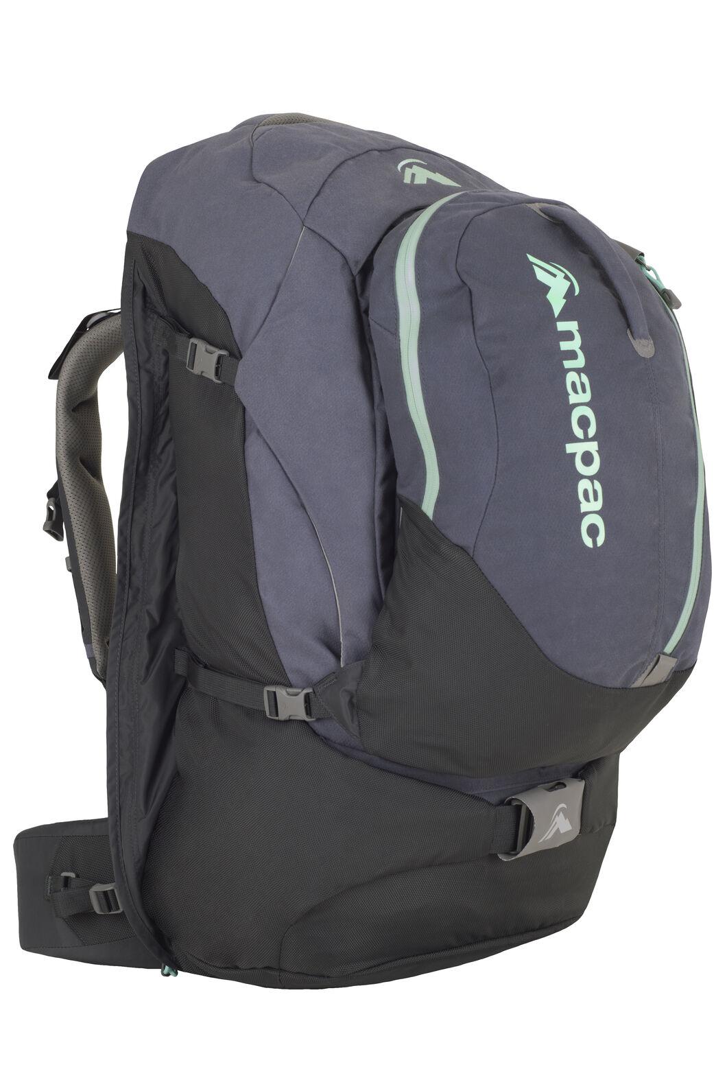 Macpac Gemini AzTec® 75L Travel Backpack, Slate, hi-res