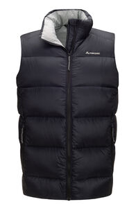 Macpac Men's Sundowner Pertex® Down Vest, Black, hi-res