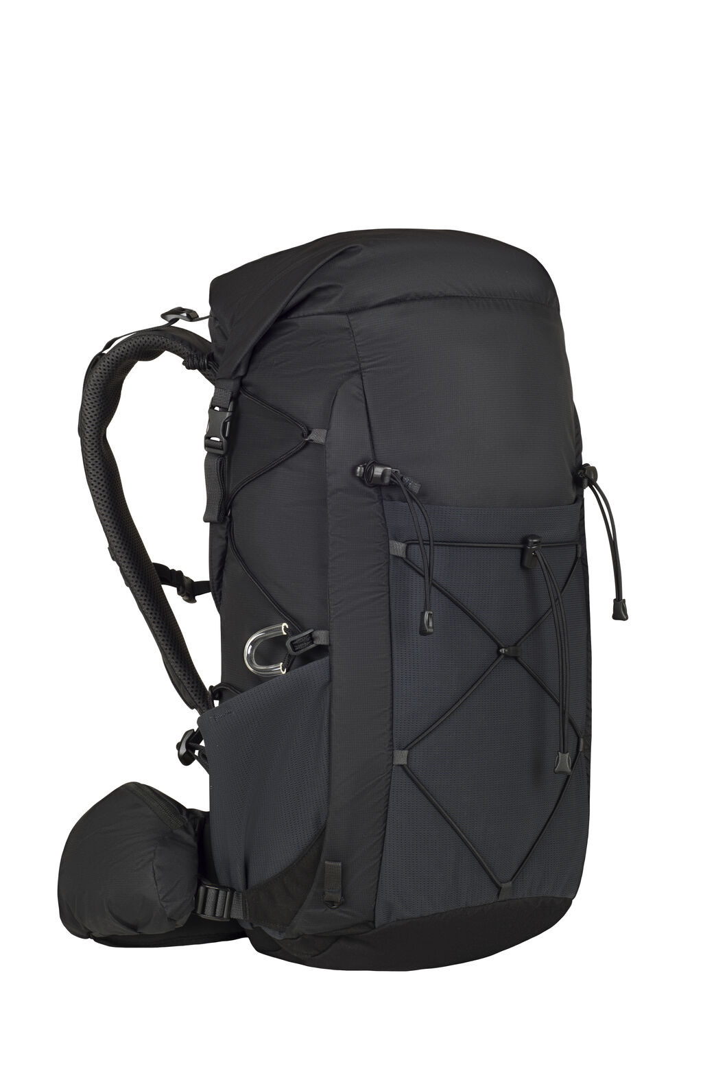 Macpac Fiord 28L Hiking Pack, Black/Black, hi-res
