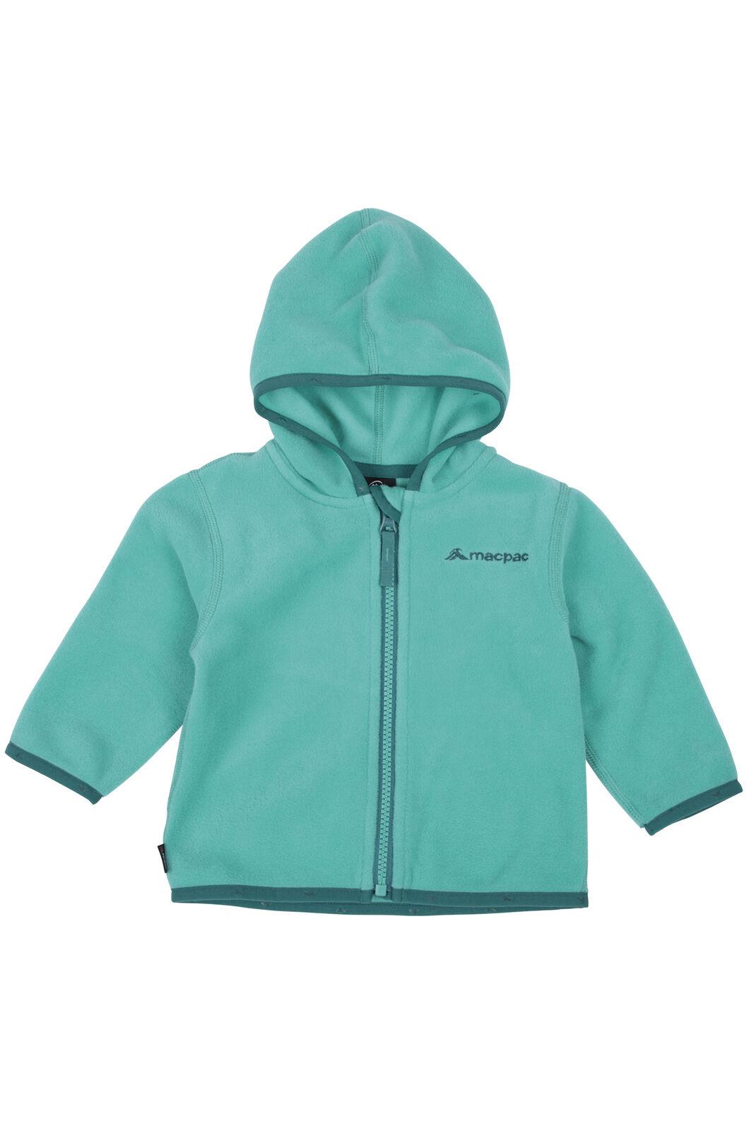 Macpac Mini Pepe Fleece Hoody - Baby, Arcadia, hi-res