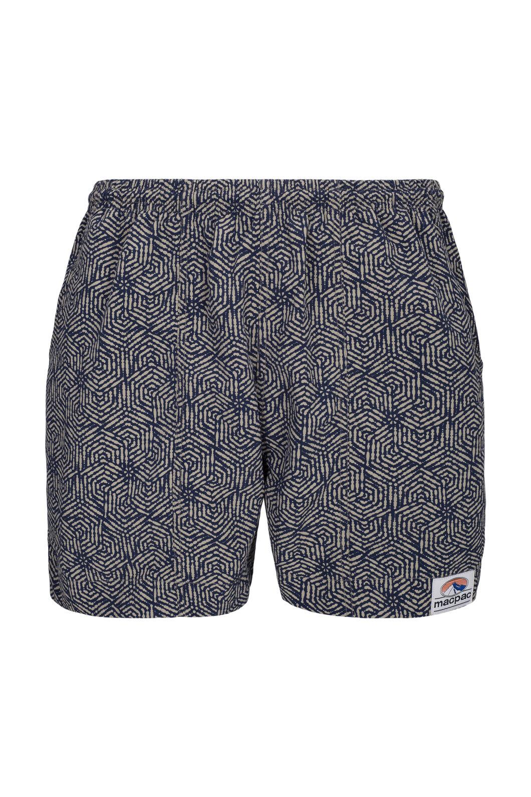 Macpac Winger Shorts — Men's, Khaki Print, hi-res