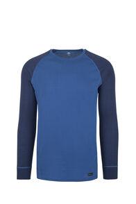 Macpac Geothermal Long Sleeve Top - Men's, True Blue/Medieval, hi-res